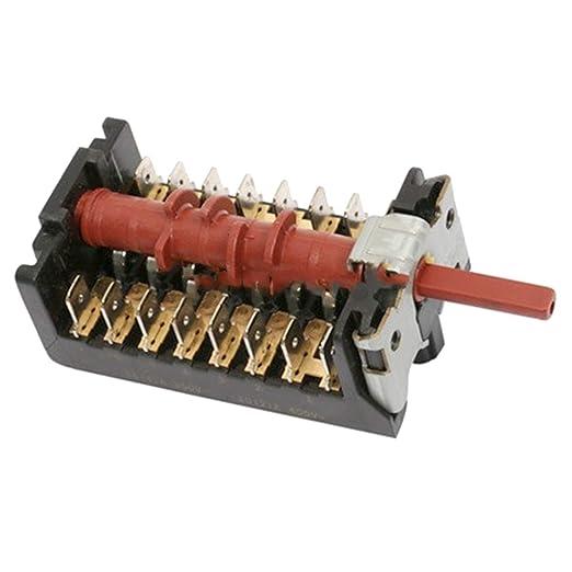 Spares2go - Interruptor selector de 6 funciones para horno Beko ...
