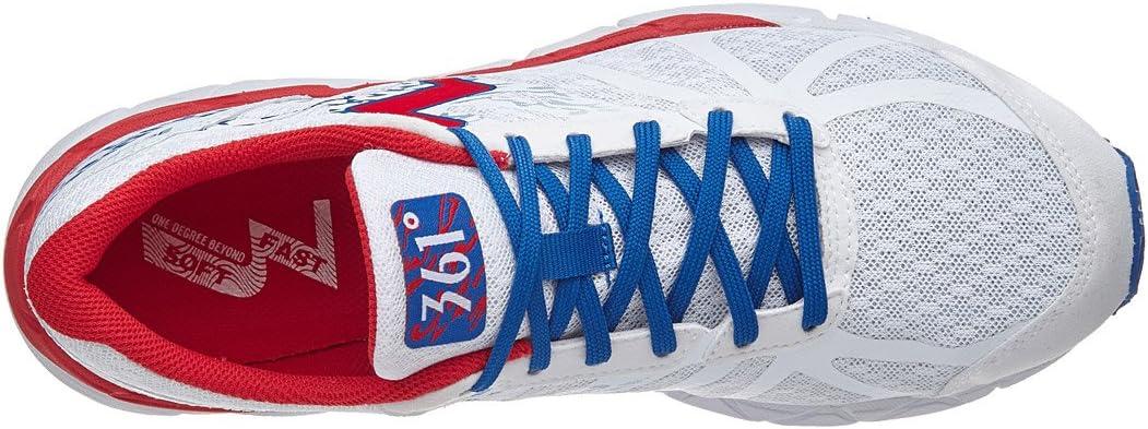 361 Degrees Feisu Women's Shoes White/Risk Red White/Risk Red