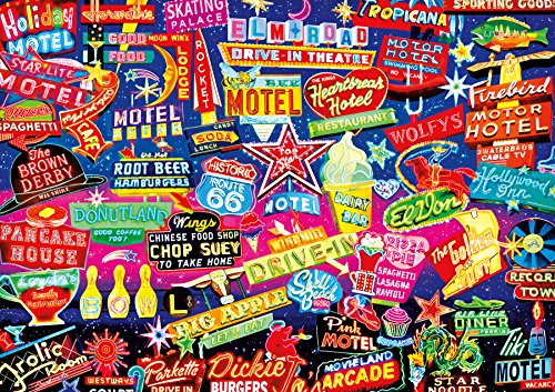Buffalo Games - Vivid Collection - Aimee Stewart - Neon Dazzle - 300 Large Piece Jigsaw Puzzle