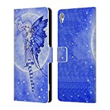 Official Amy Brown The Moon And Stars Pixies Leather Book Wallet Case Cover For Sony Xperia Z5 Premium / Dual