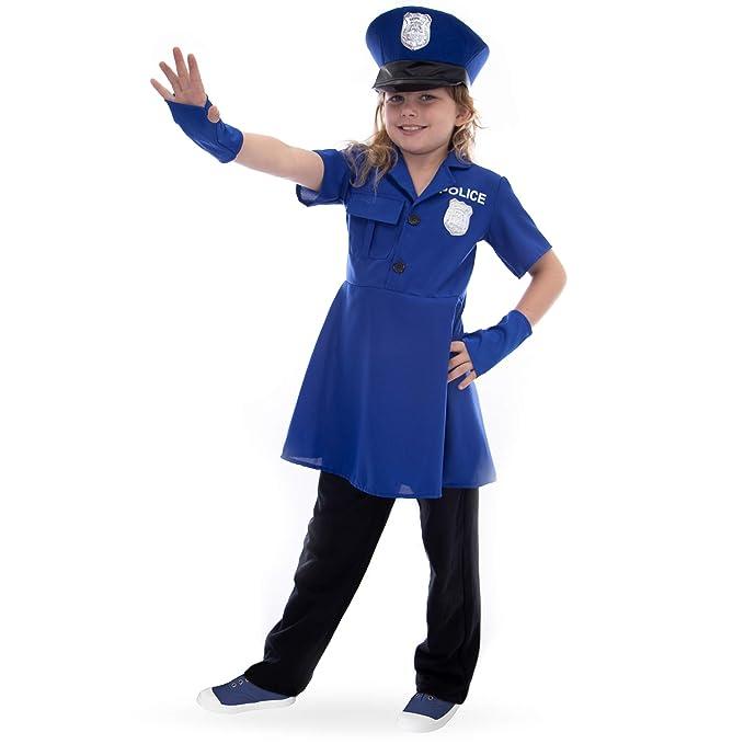 Boo! Inc Proud Police Officer Kids Halloween Costume