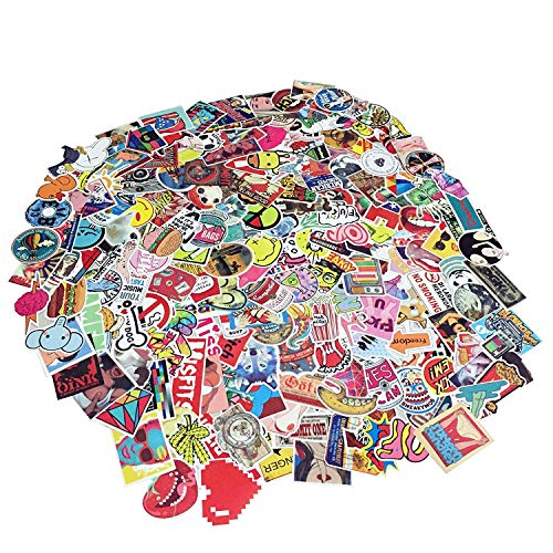 Laptop Stickers 200 pcs TCT TECH Car Motorcycle Bicycle Luggage Decal Graffiti Skateboard Stickers for Laptop Bumper -