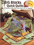 Big Blocks Quick Quilts: 8 Fabulous Quilts With Layer Cake 10