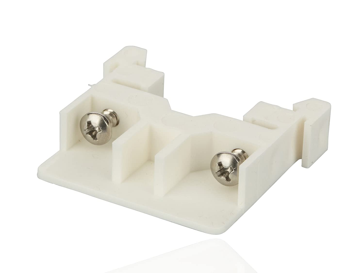 Rail Mounted Modular Power Distribution and Terminal Block End Barrier