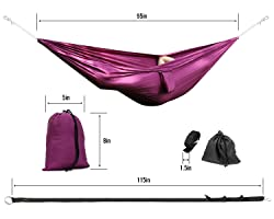 Yes4All Ultralight Portable Nylon Parachute Hammock
