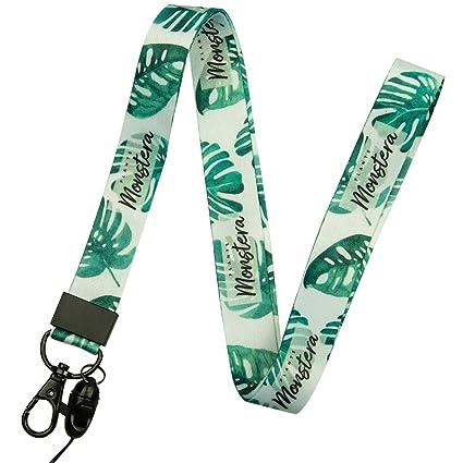 Correa de cuello de correa con la calidad, la impresión a doble cara en color y ideal para las llaves de insignia de identificación móvil MP3 USB ...