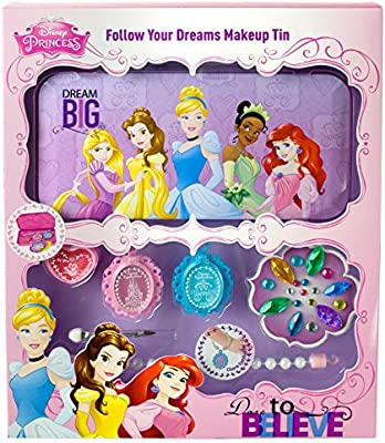 Disney Princesas Follow Your Dreams Makeup Tin, pack de maquillaje ...