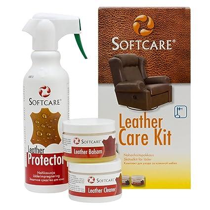 M-SOLUCIONES Softcare Kit de Limpieza Cuero y Piel ...