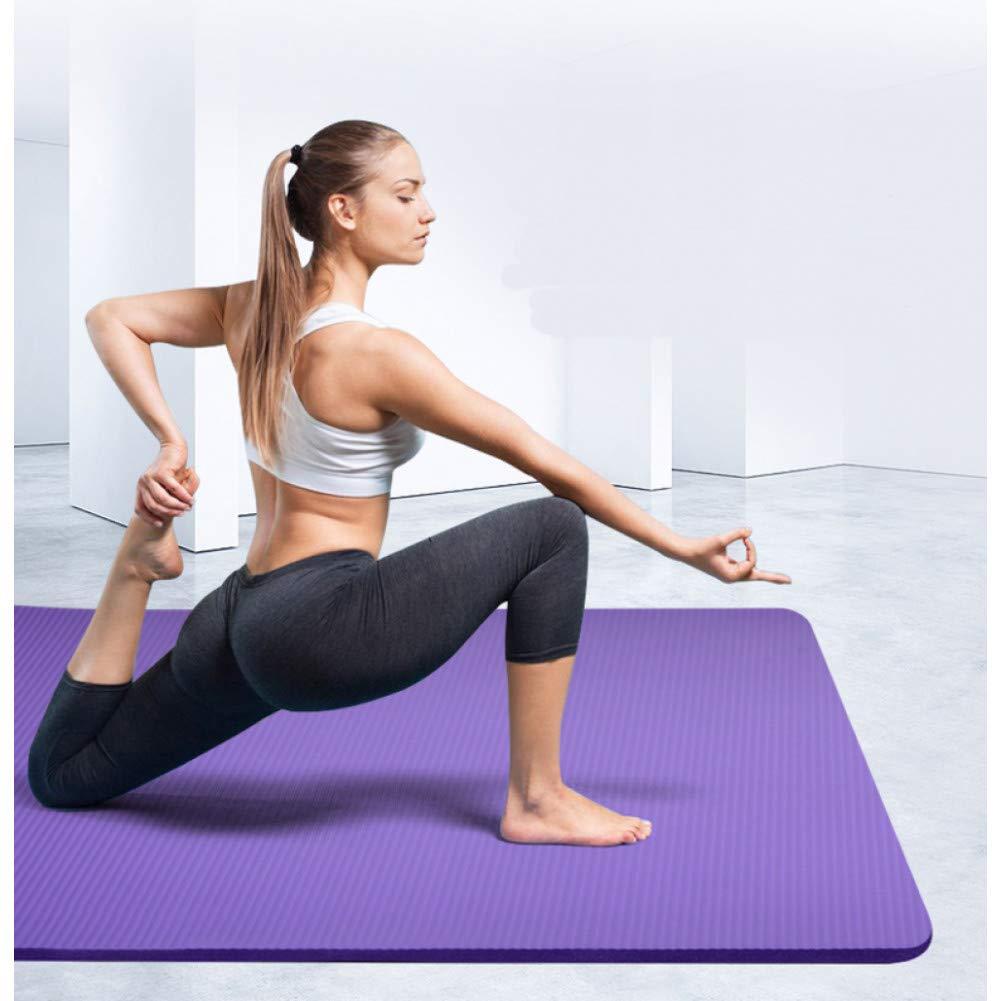 HYTGFR Alfombrillas de Yoga Antideslizantes para Ejercicios ...