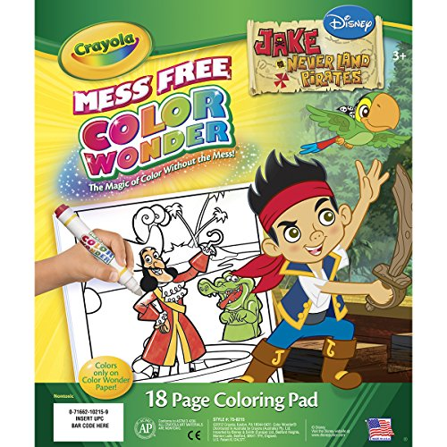 Crayola Neverland Pirates Wonder Coloring