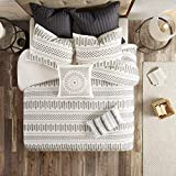 INK+IVY Rhea 100% Cotton Comforter, Clipped