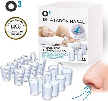 O³ Dilatador Nasal - 8 Antironquidos Nasal - 100% sin BPA ...