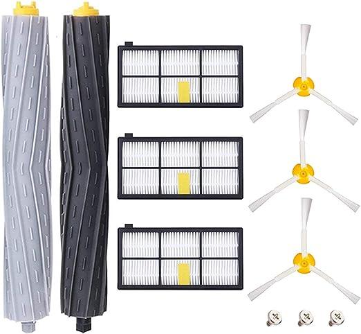 HoHome Kit Cepillos Repuestos para iRobot Roomba Serie 800 900 ...