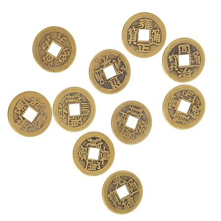 Amazonde Magideal 10pcs Chinesische Glücksmünzen China