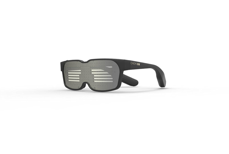CHEMION – Las gafas únicas de LED y Bluetooth – ¡Mostrar Mensajes, Animaciones y Dibujos!