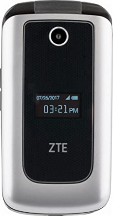 ZTE Cymbal 4G Prepaid Cell Phone (Z233VPP) Silver - 4GB, Verizon -  Refurbished