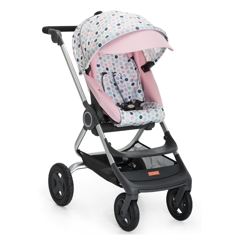 Stokke Scoot Stroller Style Kit - Soft Dots - One Size