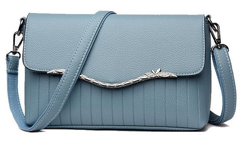 AMGBX181566 WeenFashion Womens Fashion Cross-Body-Handbags Shopping Satchel-Style Tote Bags