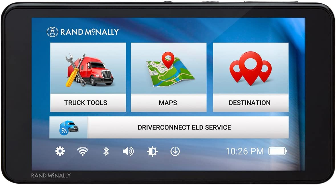 Rand McNally TND 540 LM 5in GPS Truck Navigator with Lifetime Map Updates, Renewed