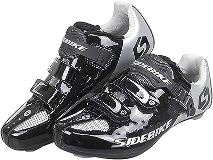 Zapatos de bicicleta ciclismo de carretera Lock Zapatos zghzsc ...