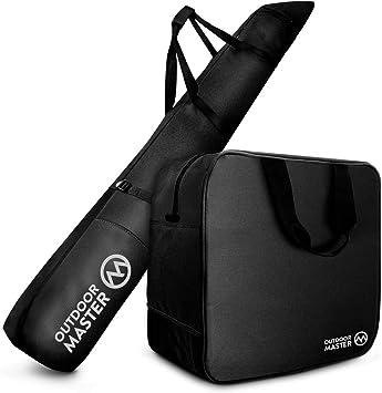Amazon.com: Bolsa de esquí y maletero OutdoorMaster – Viaje ...