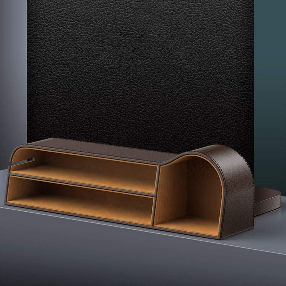 Catcher Gap Crevice Aufbewahrungsbox PU-Leder-Seitentasche Organizer ZSLD Auto-Sitz Gap Filler Innenausstattung F/ür Halten Telefon//Becherhalter,Schwarz
