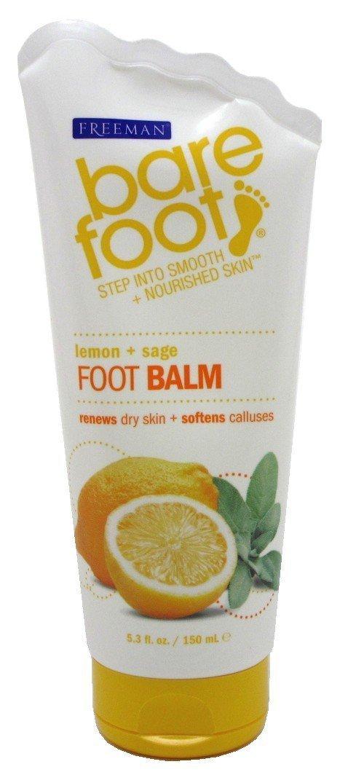 Bare Foot Lemon Plus Sage Foot Balm, 150 Milliliters 0072151188005