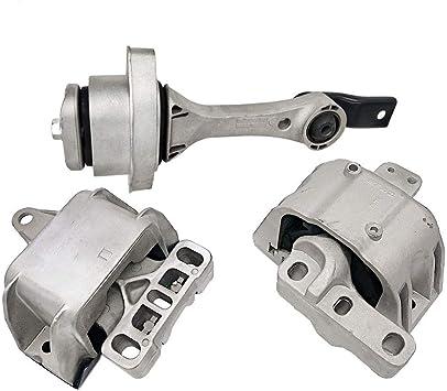 Motor /& Trans Mount 3PCS Set for Audi A3 A3 Quattro// Volkswagen GTI Jetta 2.0L