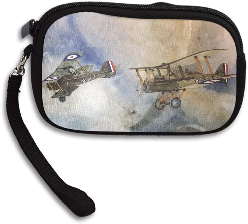 Fighter Art Works Deluxe Printing Small Purse Portable Receiving Bag