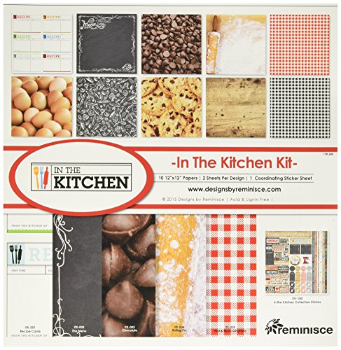 Reminisce ITK-200 In the Kitchen Collection Kit, 12