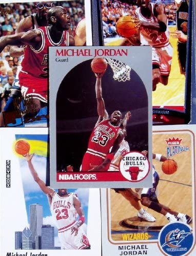 B000P8WTN8 Michael Jordan 20 Card Set with 2-Piece Acrylic Case [Misc.] 61XqFXXIPdL
