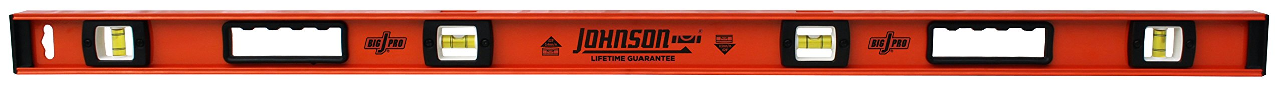 Johnson Level and Tool 1253-4800 Johnson 48-Inch Heavy Duty Professional Aluminum Level