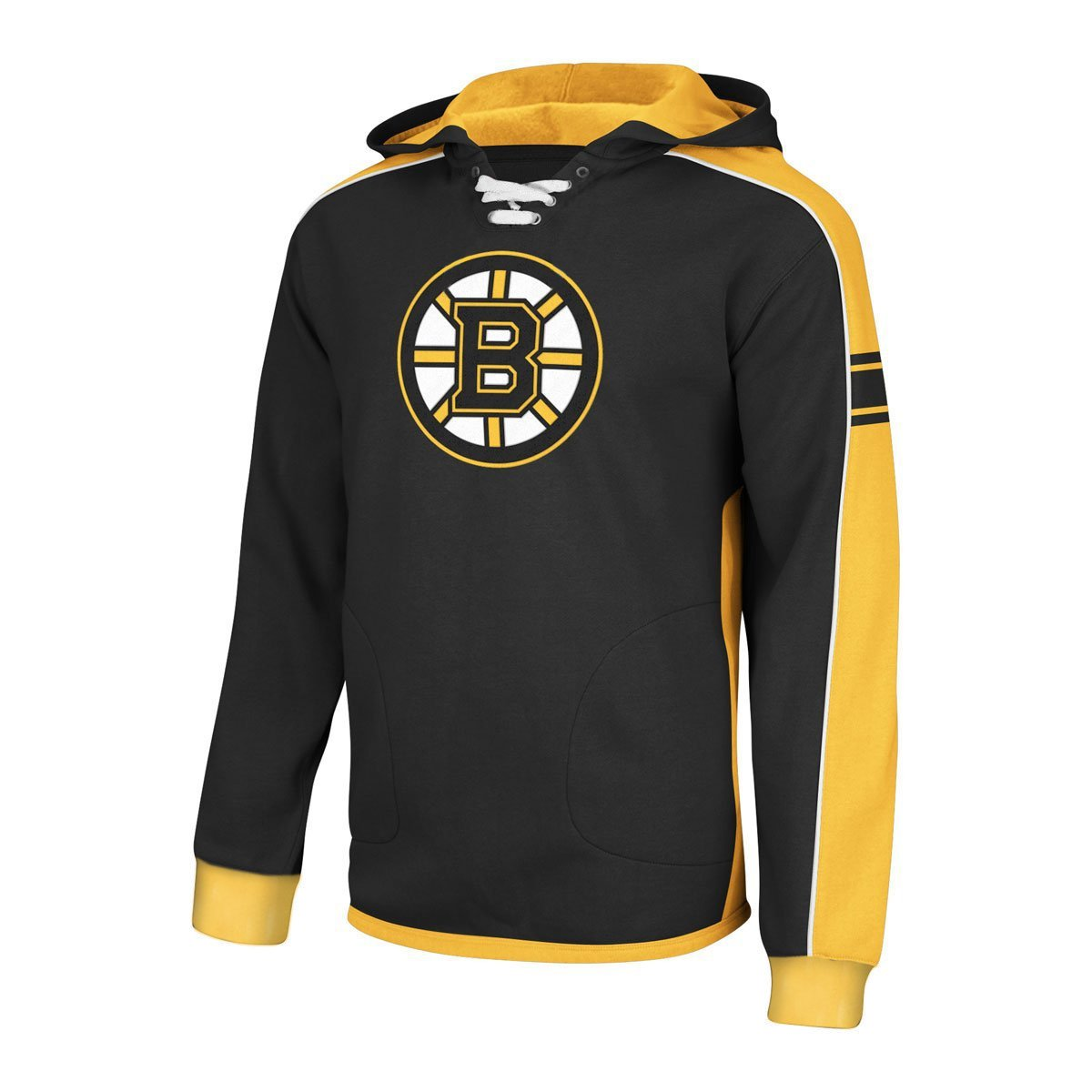 Boston Bruins Youth Jersey Pullover Fleece Hoodie - Size Youth Small (8) Reebok