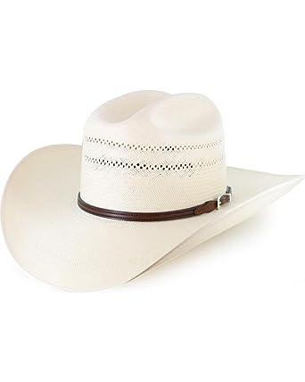 954bba786c133 Resistol Men s George Strait 10X Straw Hat - Rsrnget304281 at Amazon Men s  Clothing store