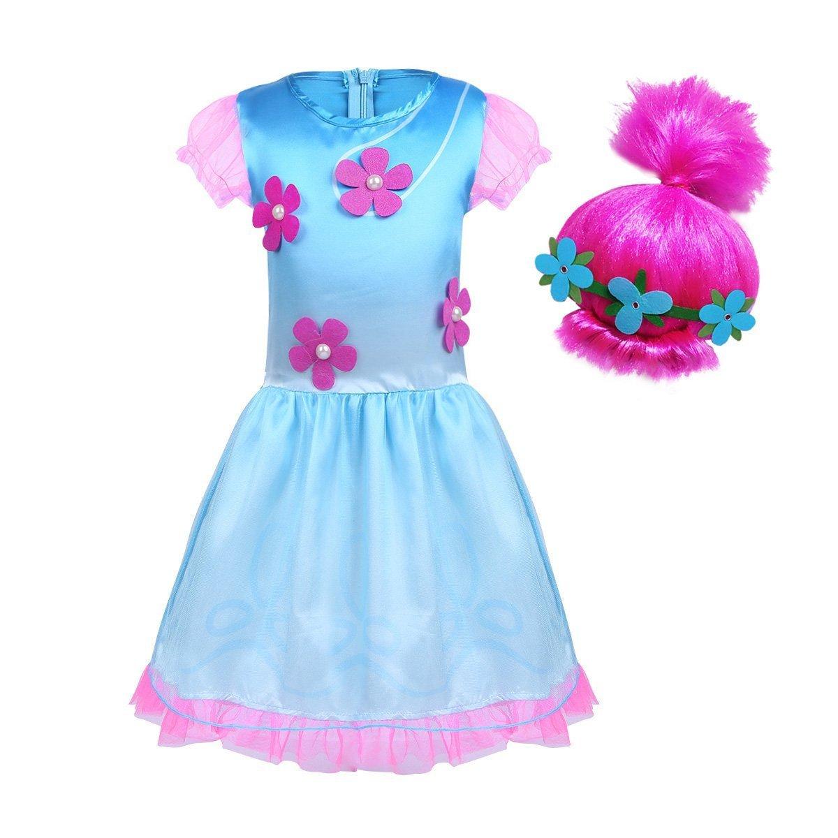 BT WILLING Disfraz de princesa para Halloween, disfraz con peluca: Amazon.es: Productos para mascotas