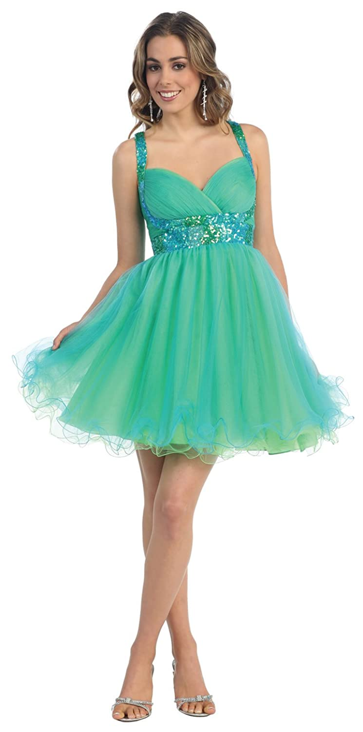 US Fairytailes Short Cocktail Party Junior Prom Dress #2657 at ...