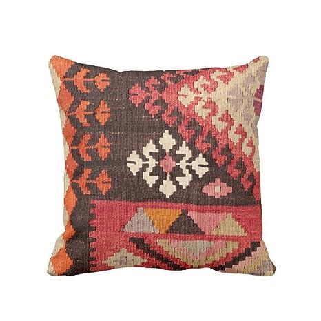 Amazon.com: Funda de almohada con estampado de alfombra ...