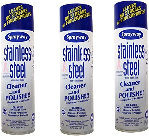 Sprayway Stainless Steel Cleaner