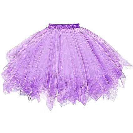 d990c2063a8e Vestido mujer Sexy ❤ Amlaiworld Mini Falda de tutú de ballet de mujer Falda  corta de gasa ...