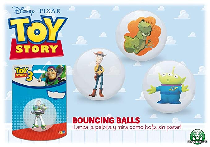Giochi Preciosi 704057 - Toy Story Pelota Saltarina En Blister ...