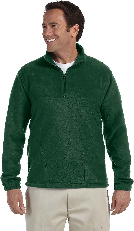 Quarter-Zip Fleece Pullover Harriton 8 oz