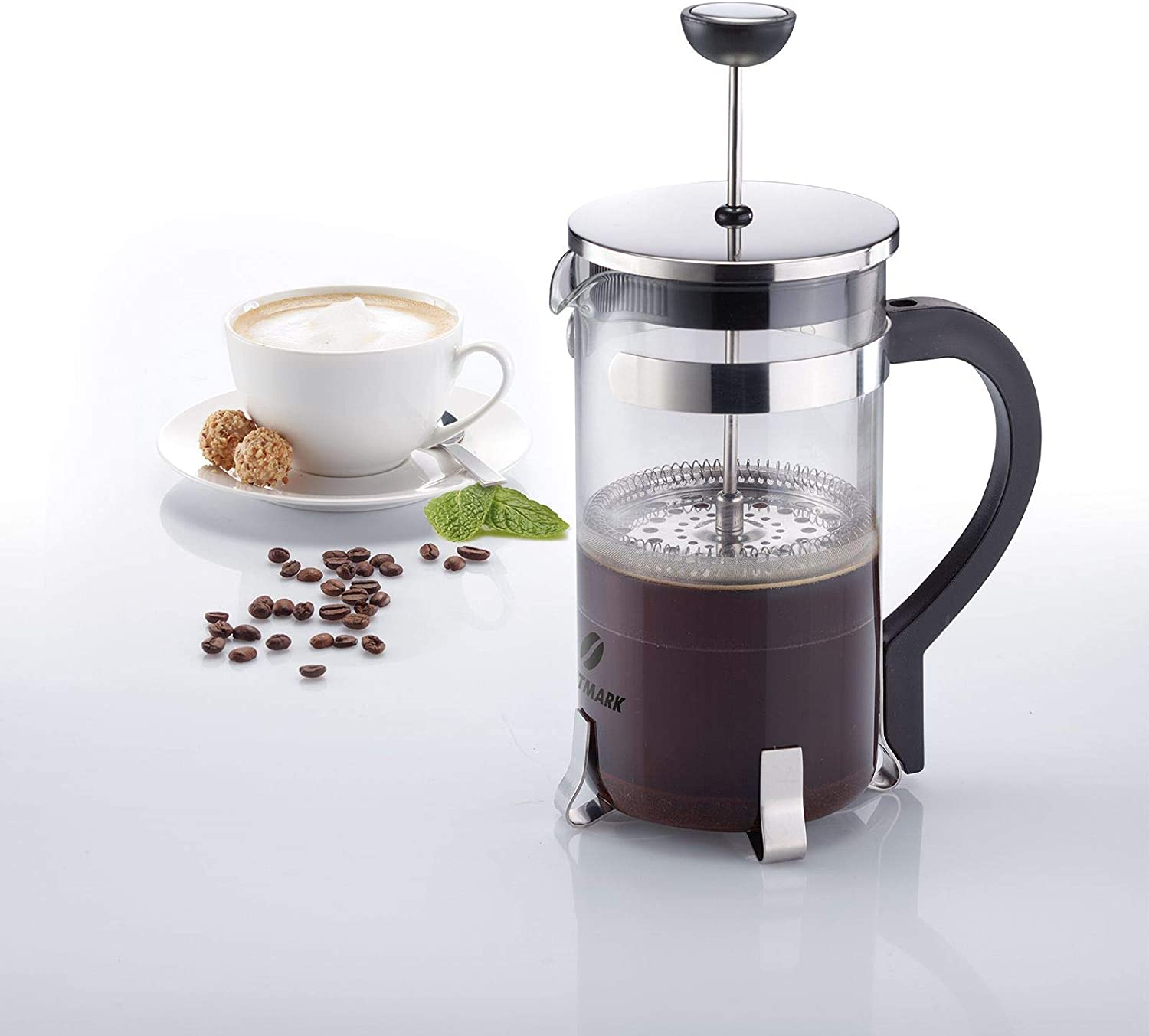 Westmark 24722260 French Press Brasilia - Cafetera (1000 ml, acero ...