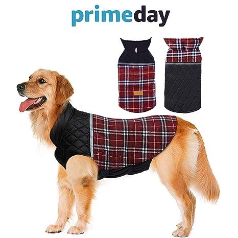 Amazon.com: MeiLiMiYu - Abrigo de invierno para perro ...