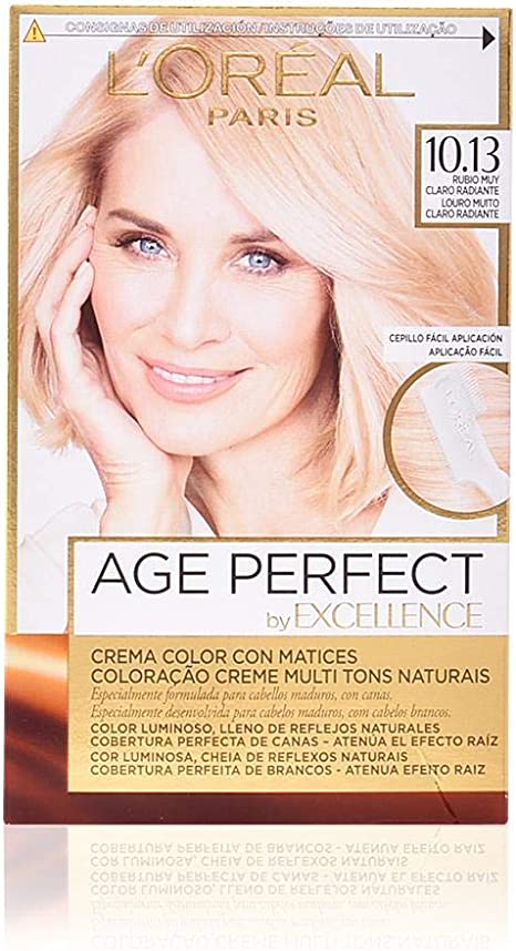 EXCELLENCE Age perfect tinte Rubio muy Claro Radiante Nº ...