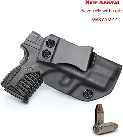 XDE 3.3  IWB  Kydex Concealed Carry Gun Holster new Springfield Armory