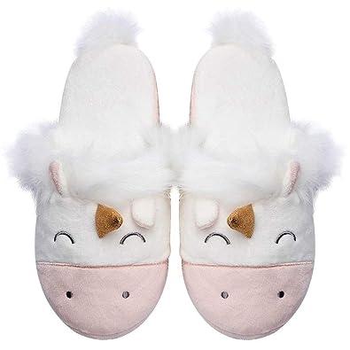 76e7c9f2e2160 Unicorn Animal Slippers
