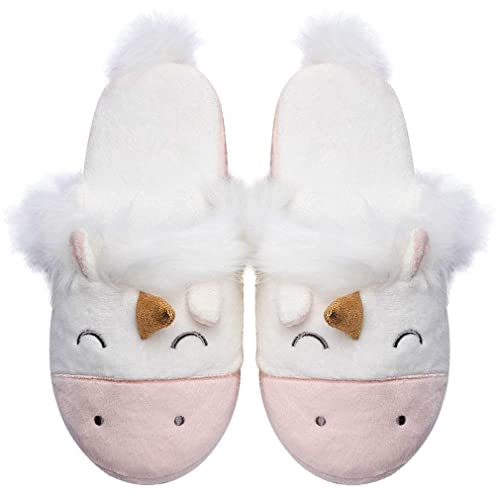 19d3ee0667b Womens Unicorn Slippers