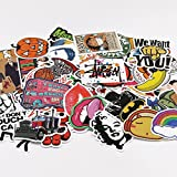 UTSAUTO Graffiti Stickers Decals Pack of 100 pcs Car Stickers Motorcycle Bicycle Skateboard Luggage Phone Pad Laptop Stickers And Bumper Patches Decals Waterproof (Type 2)
