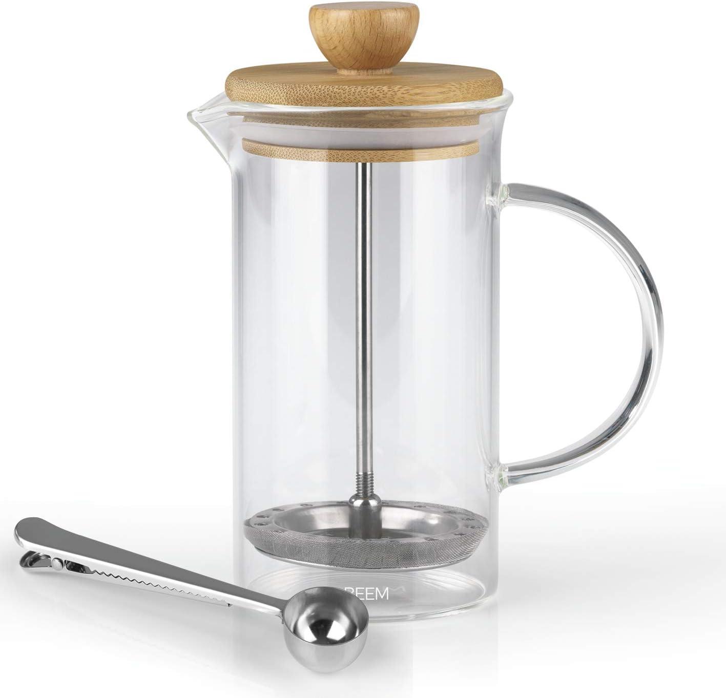 BEEM - Cafetera de émbolo, prensa de café, 0,35 L o 1 L a elegir ...