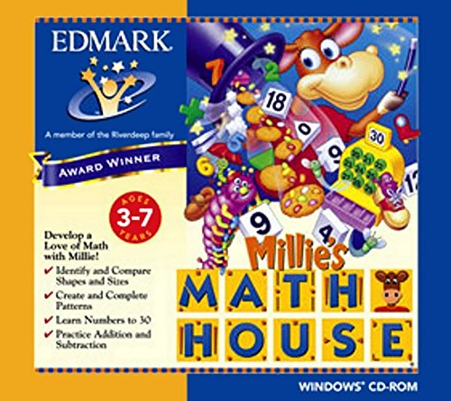 Cd Rom Kids Game Pc - Millie's Math House